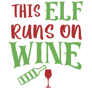 elf runs on wine