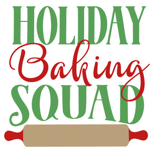 holiday baking squad