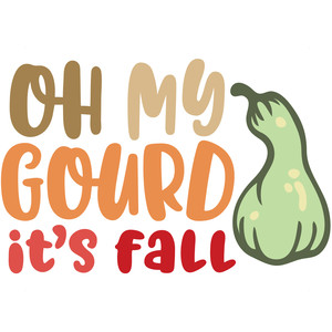oh my gourd it's fall