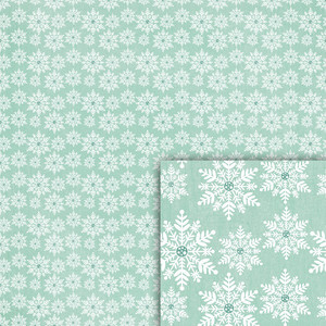 winter snowflakes backround paper