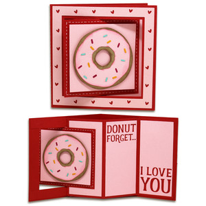 donut window lever card