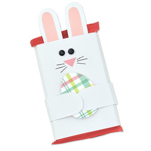 bunny chocolate bar wrap