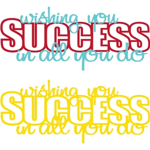 wishing you success phrase