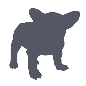 frenchie silhouette