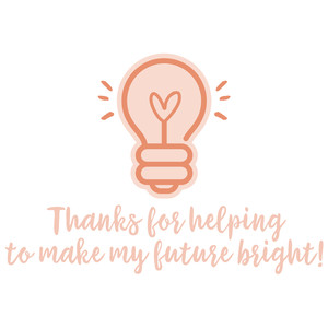teacher thanks - future bright