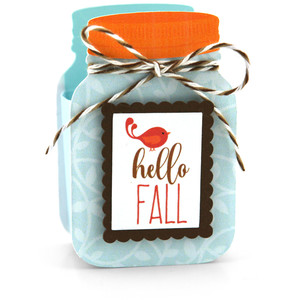 mason jar treat box hello fall