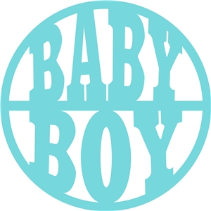'baby boy' circle title
