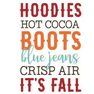 hoodies hot cocoa