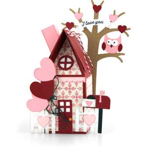 valentine house box