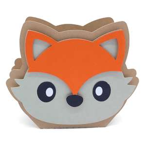 cute little fox box
