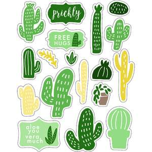 ml cleary cacti stickers