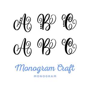 monogram craft