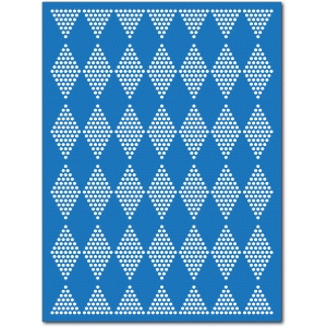 diamond dots mat