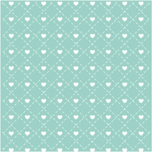 heart stitched lattice background