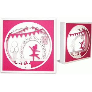 shadow box ballerina