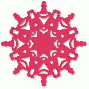 laced snowflake
