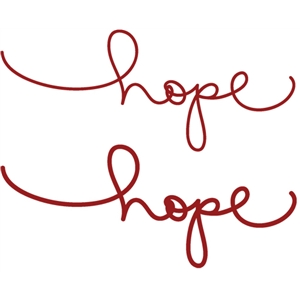 handwritings: hope