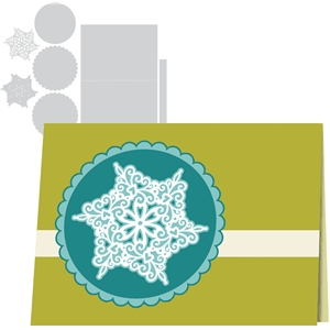 1 snowflake card kit