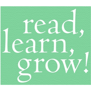 read learn grow phrase