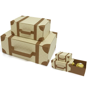 suitcase box for chocolates