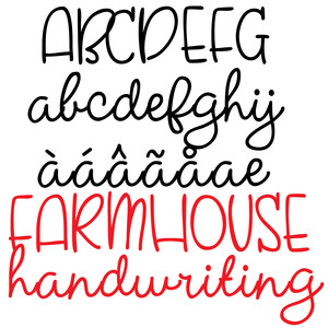 pn farmhouse handwriting