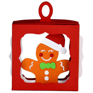 gingerbread man hanging ornament