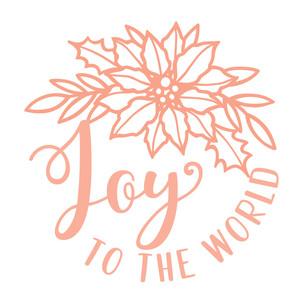 joy to the world poinsettia