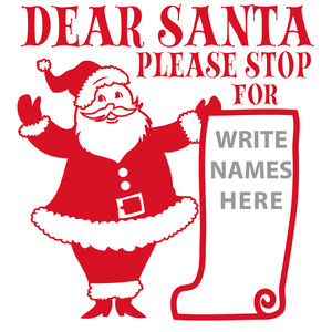 santa please stop for