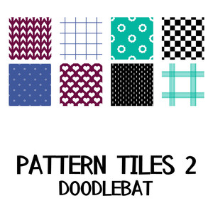 pattern tiles doodlebat