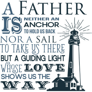 father a guiding light