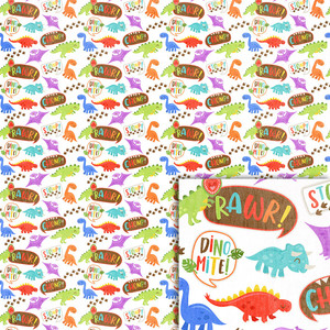 dinosaurs background paper