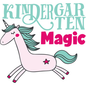 kindergarten magic unicorn
