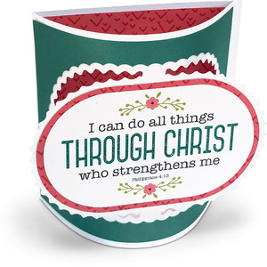 flexi card christ strengthens me
