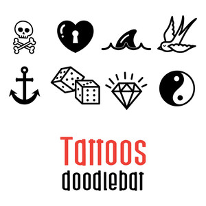 tattoos doodlebat