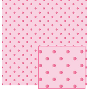 pink on pink polka dot pattern