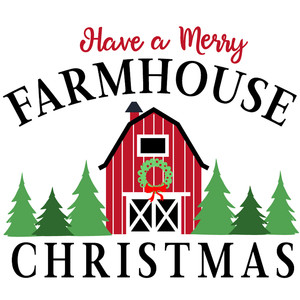 merry farmhouse christmas