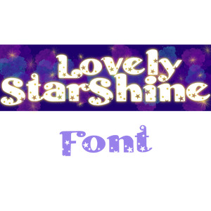 lovely starshine font