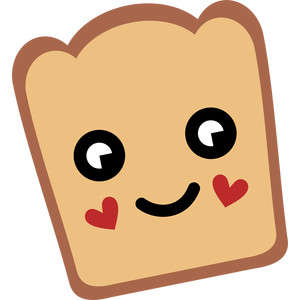 bread and hearts