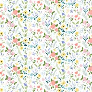 spring wildflower pattern