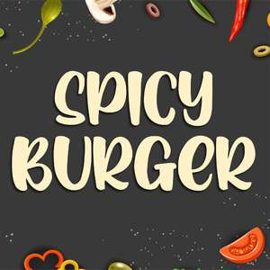 spicy burger