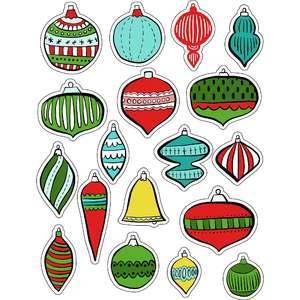 ml christmas ornaments stickers