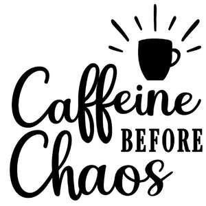 caffeine before chaos