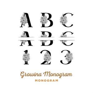 growina monogram