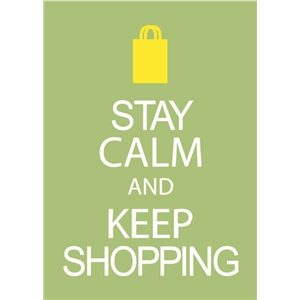 keep shopping phrase