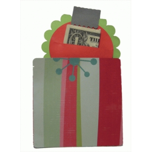 ornament cash or check holder
