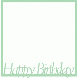happy birthday overlay