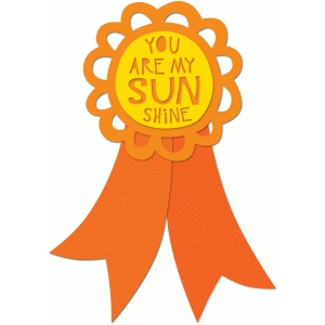 you are my sunshine ribbon