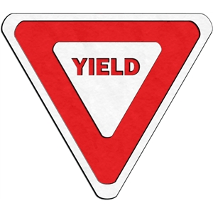 traffic signs - yield