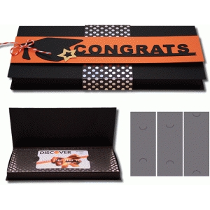 3d graduation box with inserts