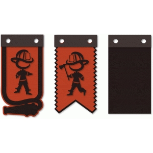 fireman banner flags kit 2 point ax